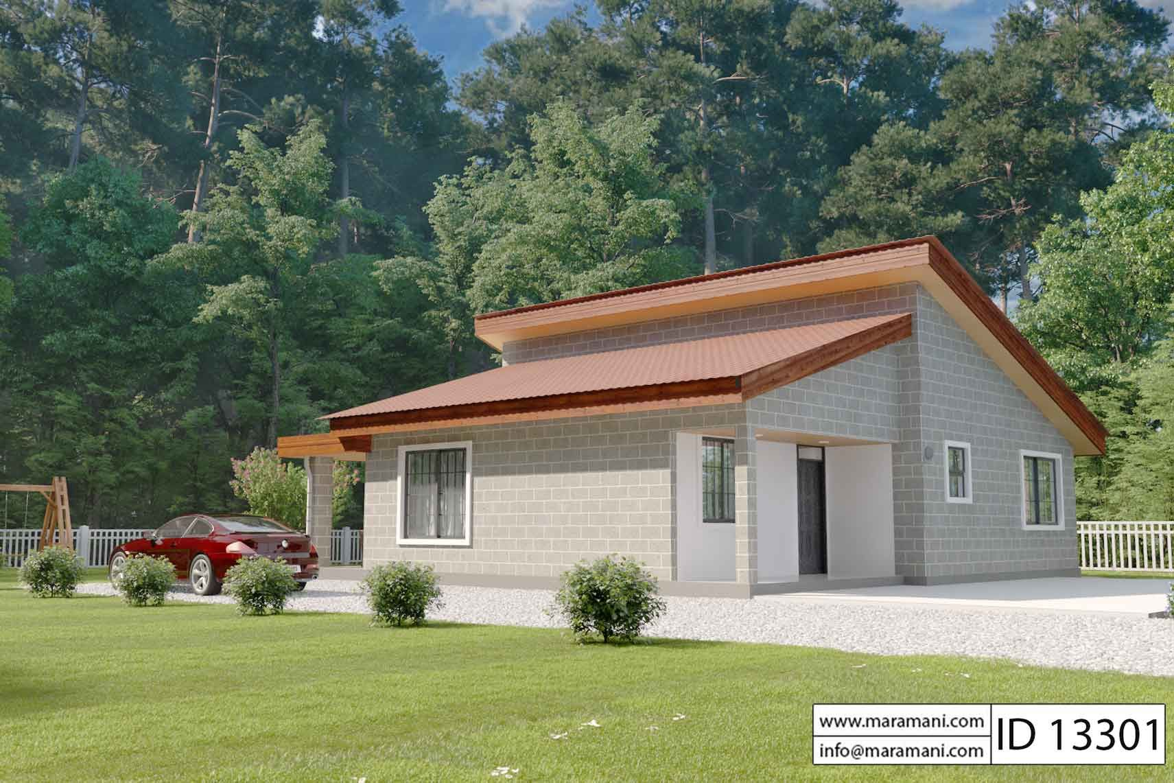 3 Bedroom House Plan Id 13301 House Design Pictures Dream House Plans House Plan Gallery