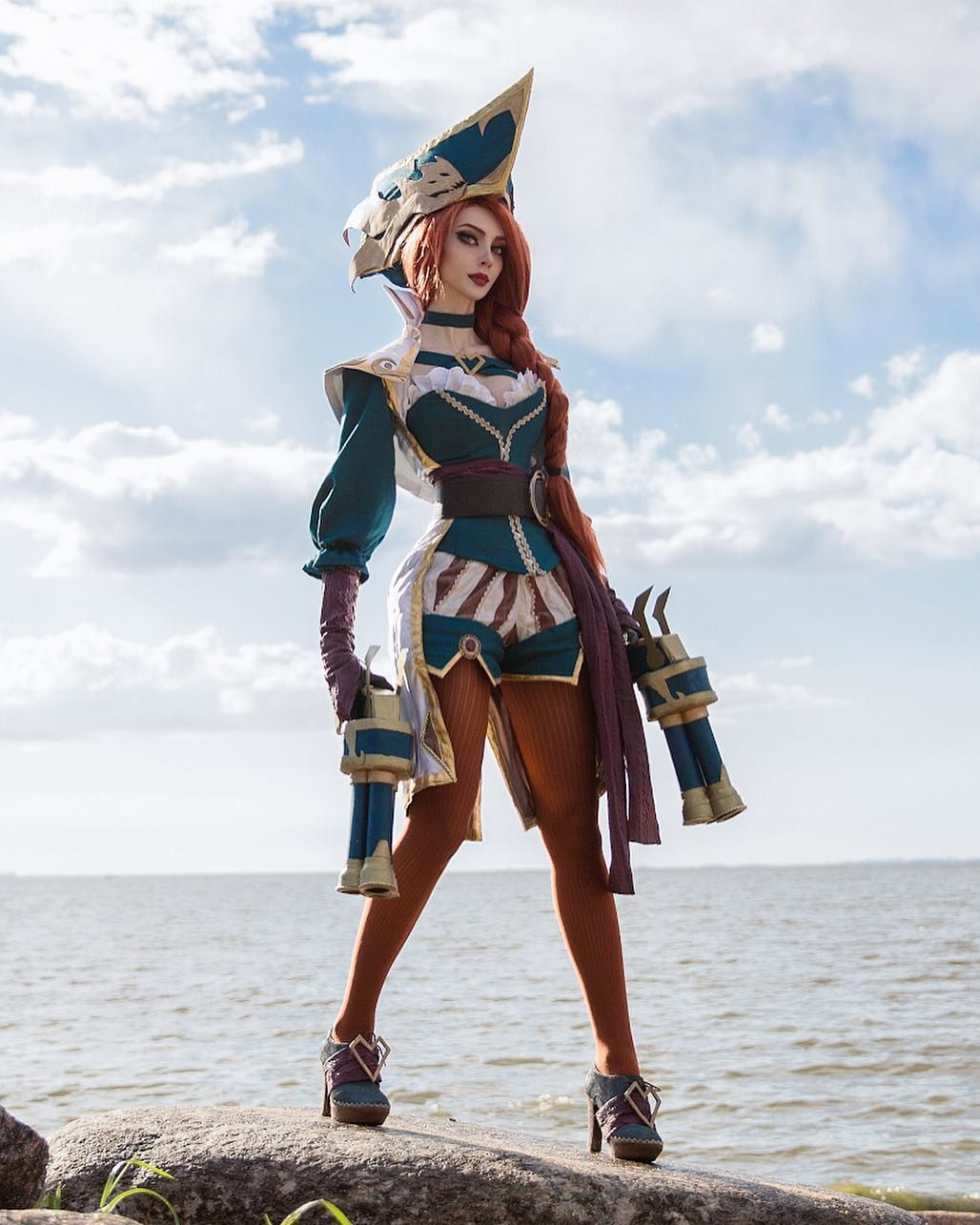 Alin Ma Captain Fortune Cosplay