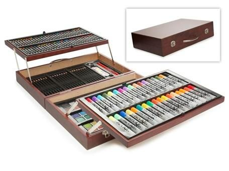 Artist Kits For 10 Year Olds Art Kits In Wooden Cases B Day And