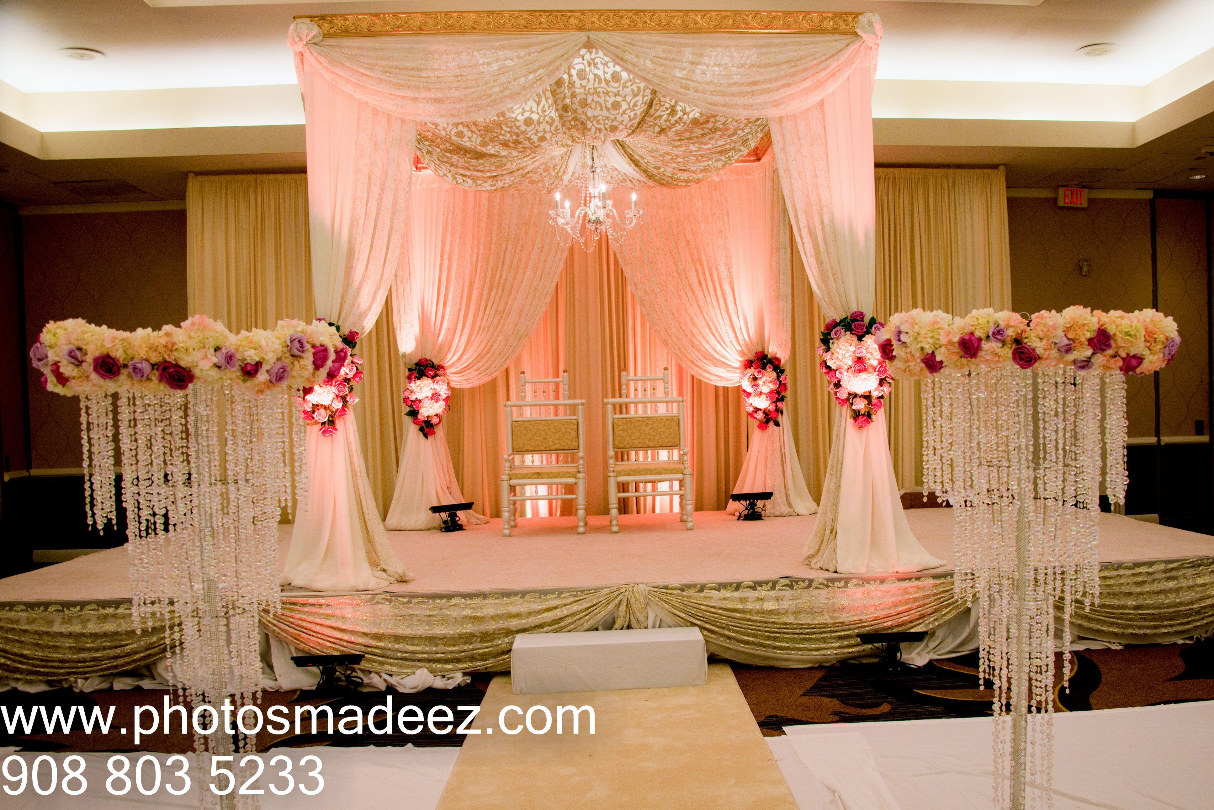 beach wedding in new jersey%0A Mandap for Wedding at Sheraton Parsippany  NJ  Punjabi Wedding in New Jersey   Along