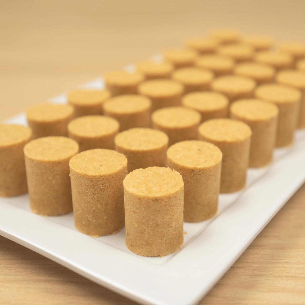 pacoca de rolha apenas 3 ingredientes receita em 2020 pacoca pacoquinha 3 ingredientes pinterest