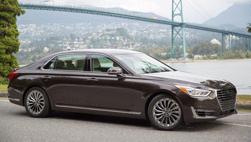 Hyundai Genesis G90 Hyundai Genesis Hyundai Luxury Sedan