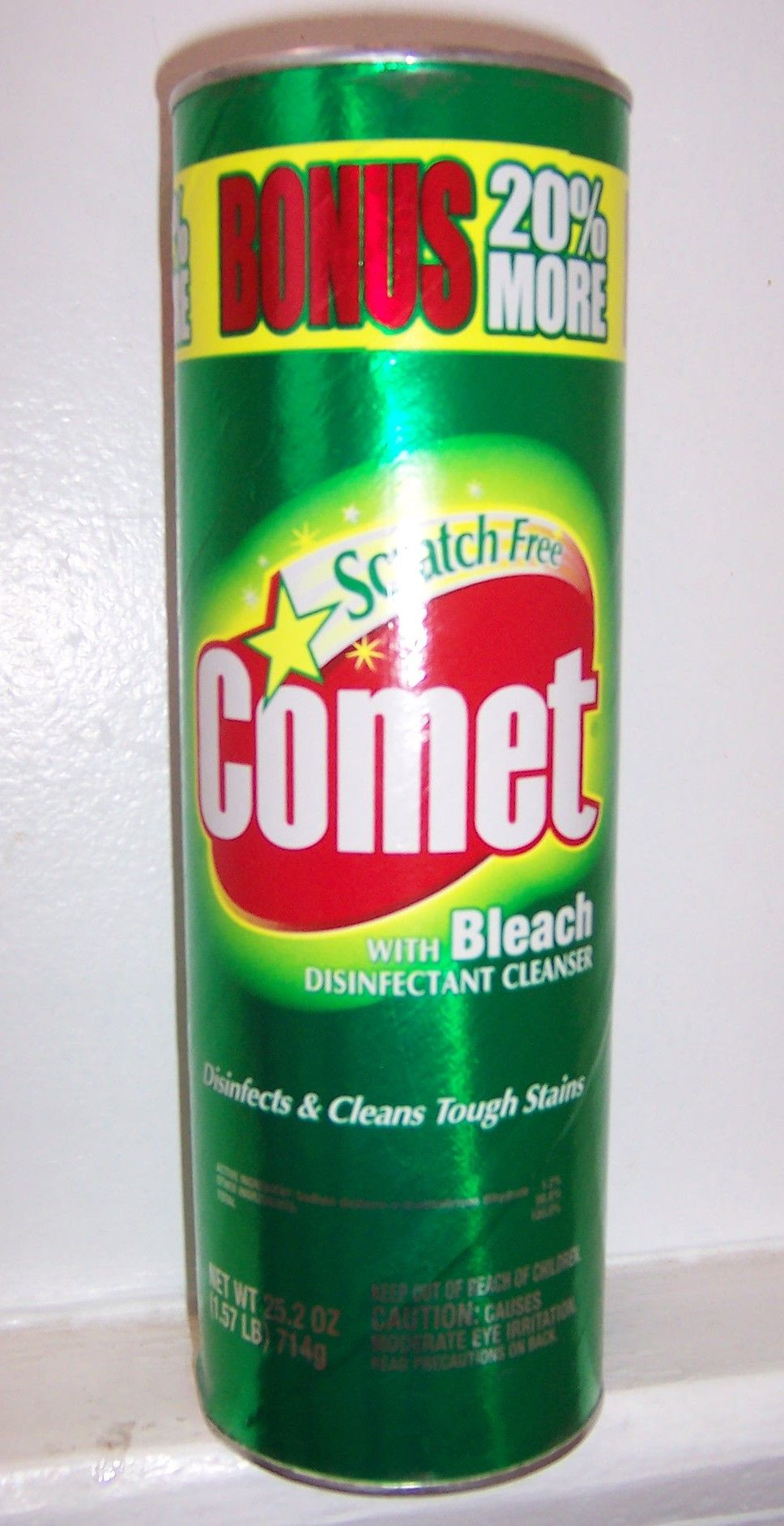 Bleaching powder for cleaning bathroom - Comet Cleaner Label Please Read Our Blog For Very Interesting Tips On A Variety Of Topics