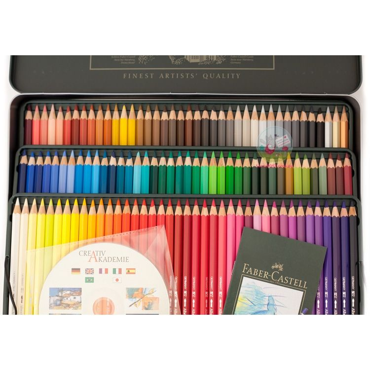 Faber Castell Colored Pencil Tin 120 Watercolor Google Search