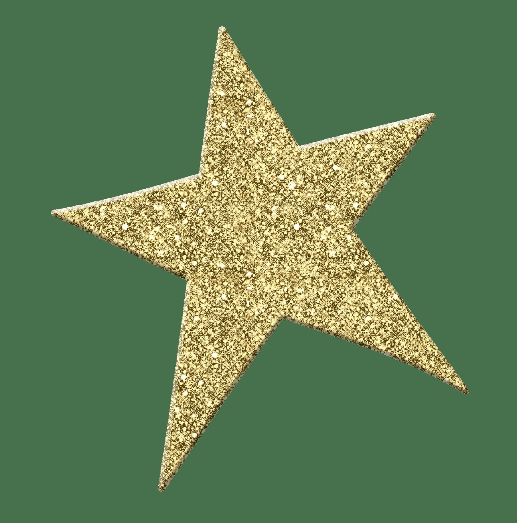 Golden Star Png Image Star Clipart Gold Glitter Stars Sparkle Png