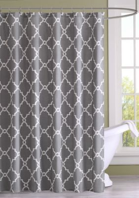 Madison Park Saratoga Shower Curtain In 2020 Gray Shower