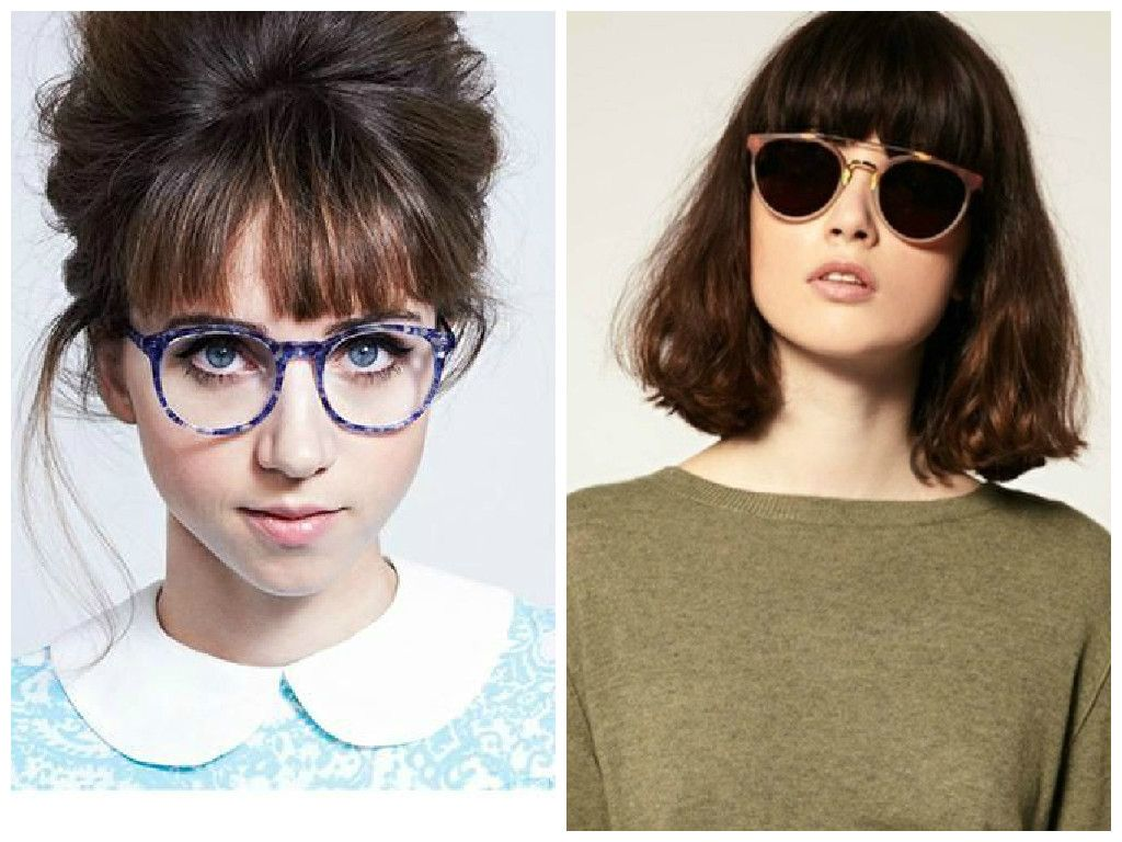 Bangs And Glasses Can Be Adorable Quirky Or Edgy But It Could Also Look Like Your Entire Face Bangs And Glasses Hairstyles With Bangs Hairstyles With Glasses