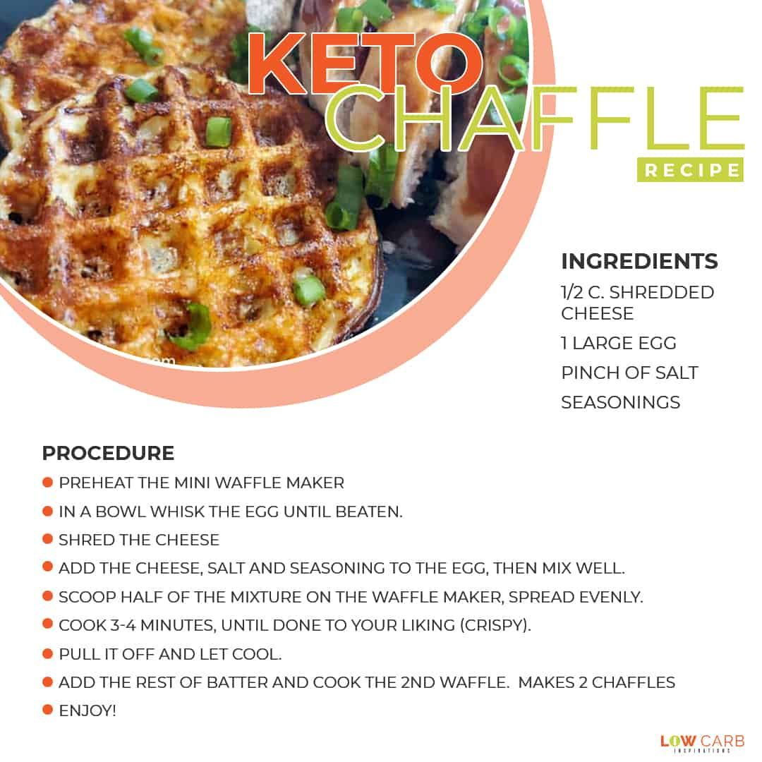 The Most Popular Keto Chaffle Recipe On The Net Recipe Recipes Food Eat