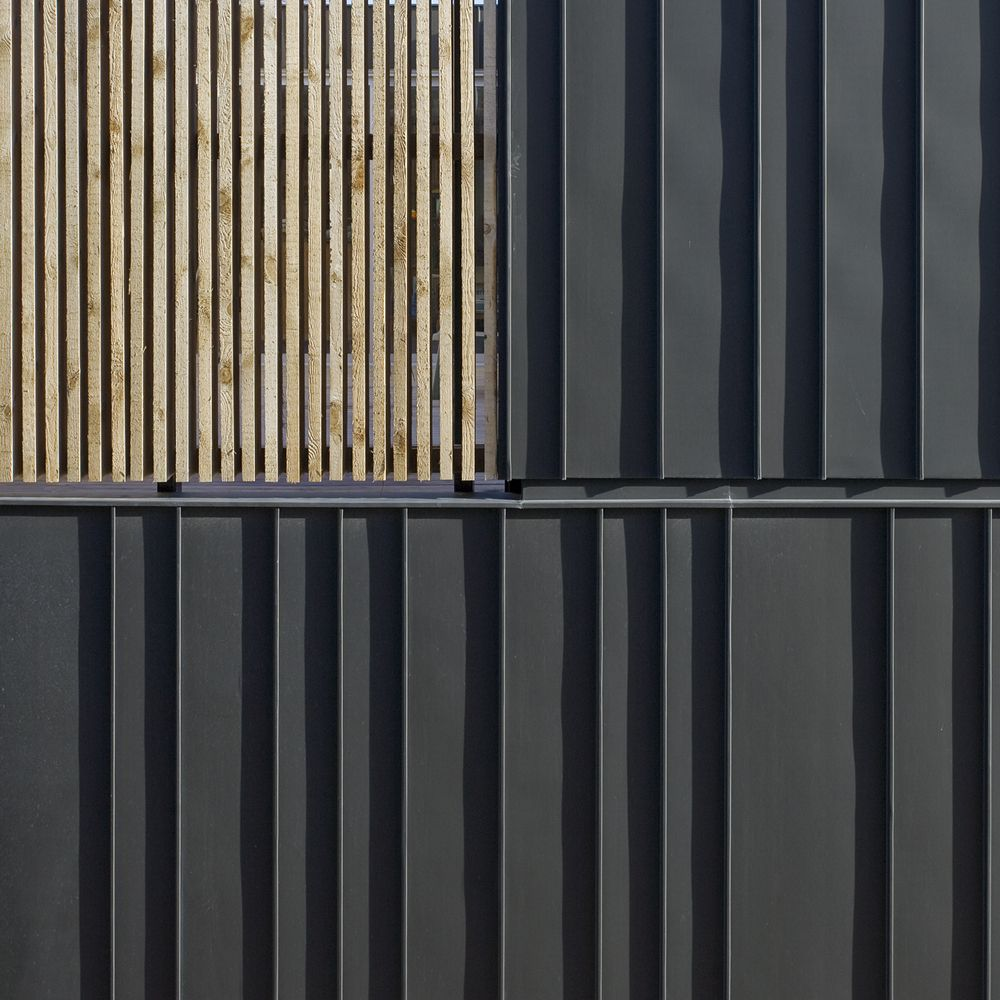 V36k0809 Pasel Kuenzel Architects Cladding Materials Vertical Siding And Exterior Cladding