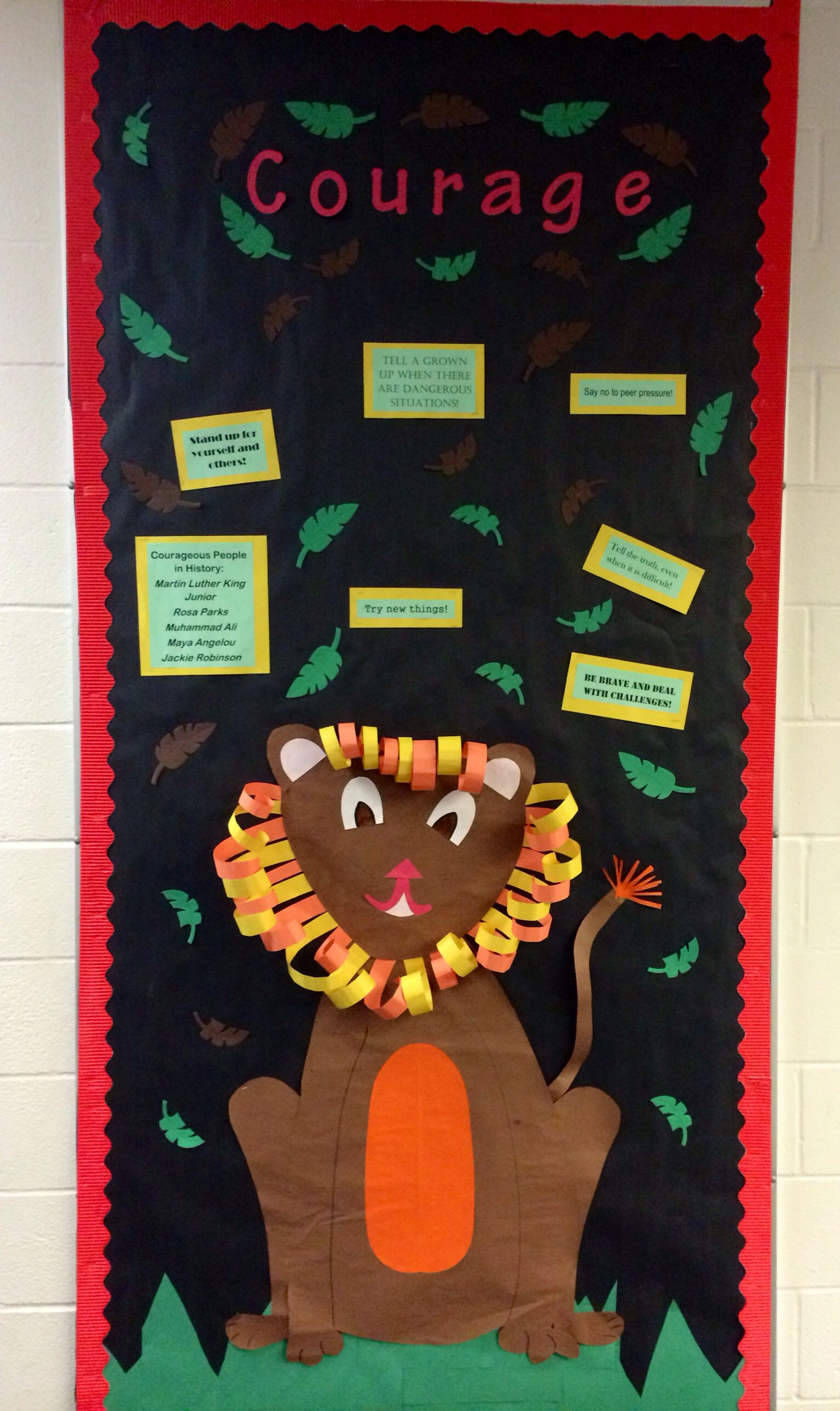 Elementary School Counseling Character Trait Of The Month