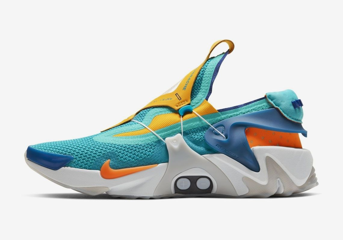 Nike Set To Release The Adapt Huarache In Vibrant Teal