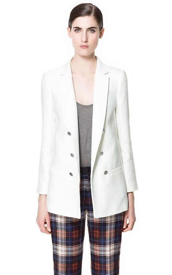 LONG SEAMED BLAZER