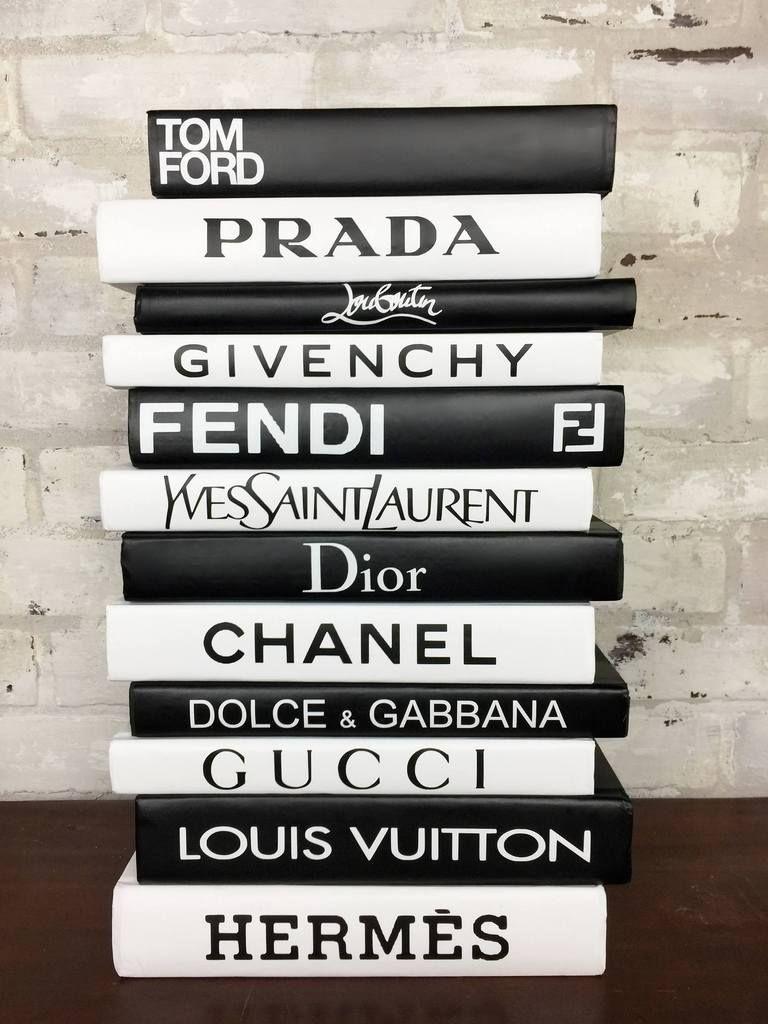 Photo of Fashion Designer Book Labels – (Set of 12) #2