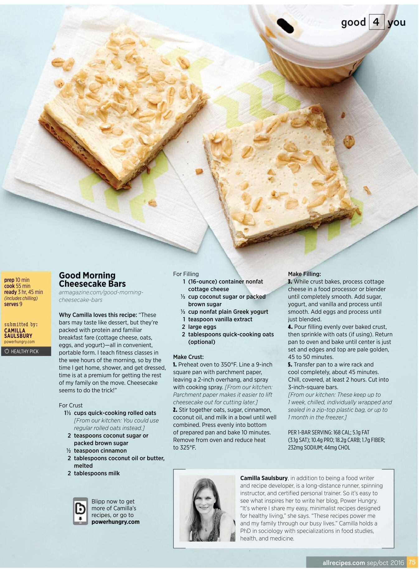 Good Morning Cheesecake Bars | *For My Kitchen* | Pinterest ...