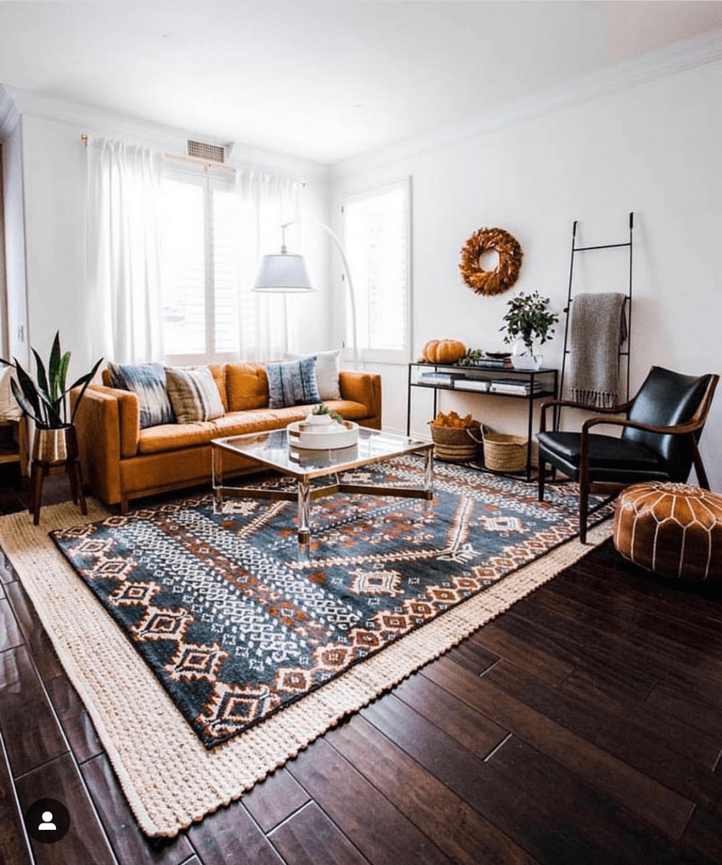 Living Room Rugs - All You Need To Know • One Brick At A Time