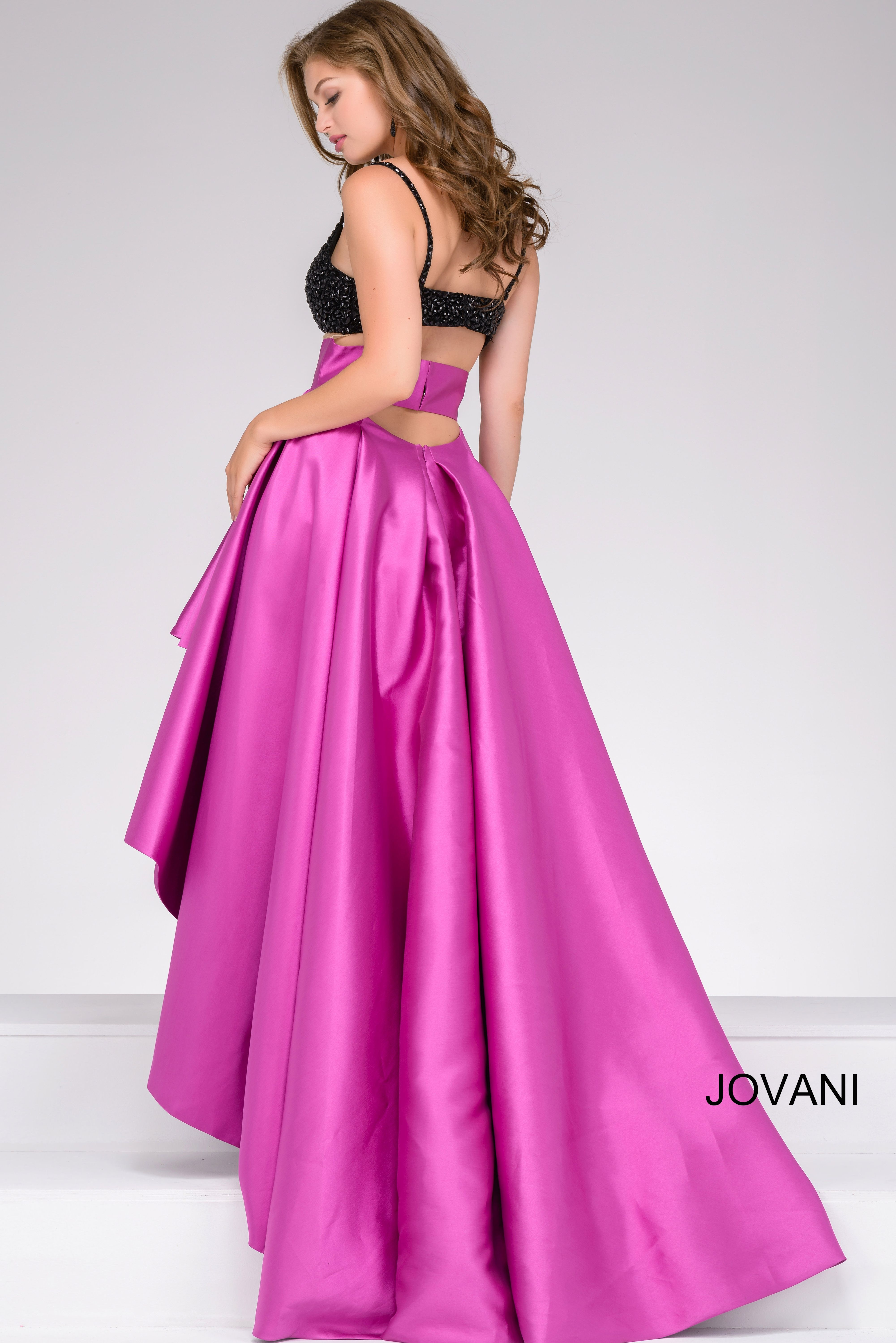 Feel fun and flirty in Jovani 47862 available at WhatchamaCallit ...