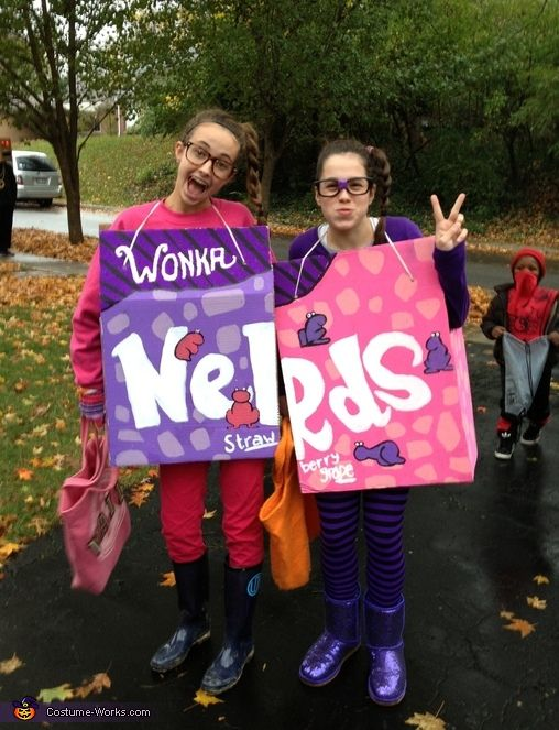 Pin By Erin Blackwelder On Boooo Fall Nerds Candy Candy Costumes Nerd Costumes