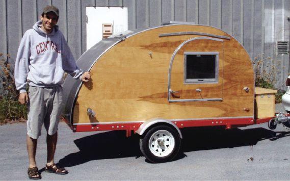 Reader Project Teardrop Trailer Teardrop Camper Plans Teardrop