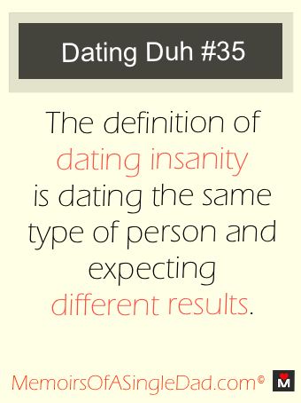 """I think we're all """"Dating Insane"""" from time to time, right?"""