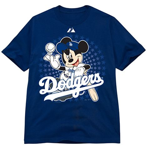 Disney Kids Los Angeles Dodgers Mickey Mouse Tee T Shirt Diy Shirts Disney Kids