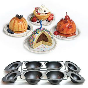 Betty Crocker Mini Dome Cake Pans Simply Mix Bake And