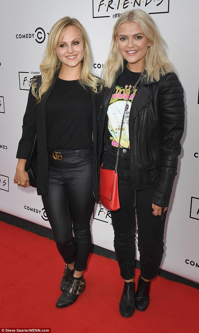 Seeing double: Coronation Street's Lucy Fallon and Tina O'Brien looked more like sisters d...