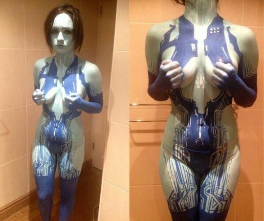Cosplay-Body-Paint   Roustan Bodypaint