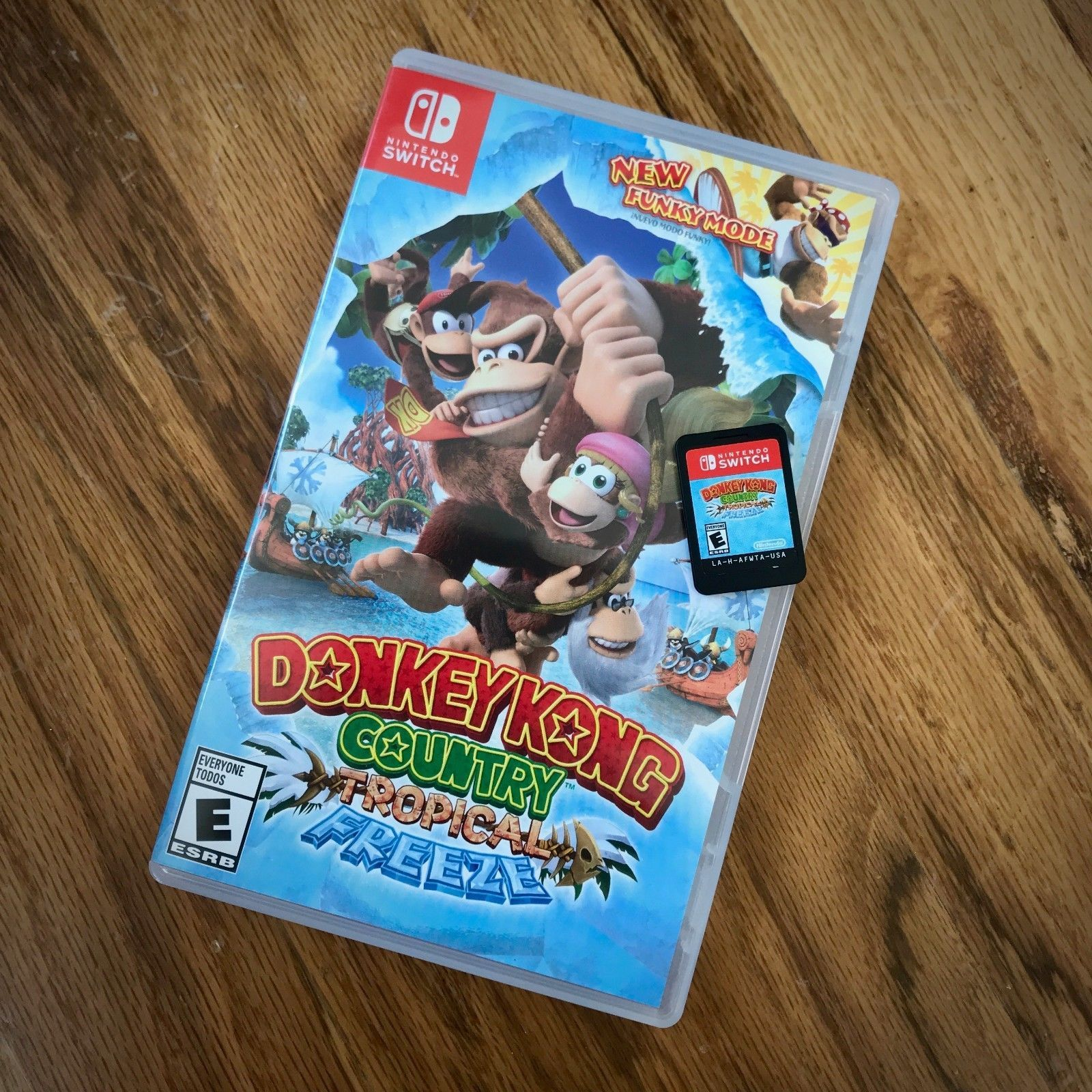 Lightly Used Donkey Kong Country Tropical Freeze Tested Nintendo