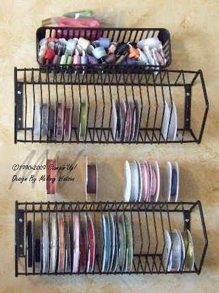 Ribbon Storage Idea These Are Always At Goodwill