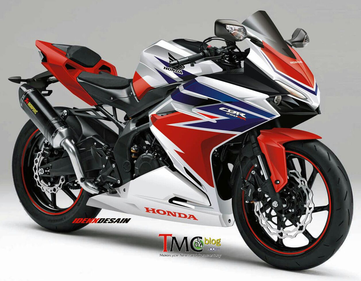 Concept 2016  2017 Honda CBR Sport Bike  CBR250RR  CBR300RR