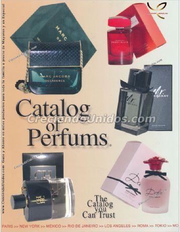 539 Catalog of Perfums Catalogo de Perfumes originales por