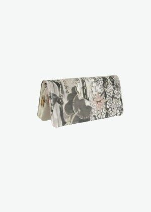 "Black and White ""Seabed"" Wallet - Tsumori Chisato e-store   Tsumori Chisato E-store"