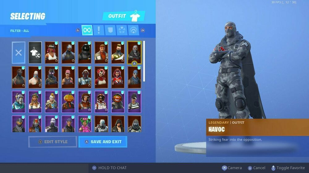 Fortnite Account (Season 3-8) with save the world and twitch