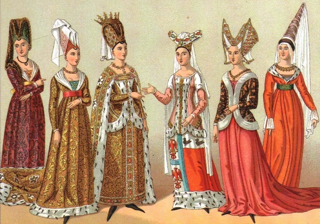 2f5df00f4 Ropa de siglos anteriores cuando la ropa era casi siempre símbolo de clase  social. Solo los ricos seguían la moda realmente.