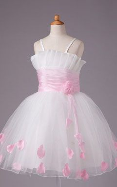 wedding flower girl gown