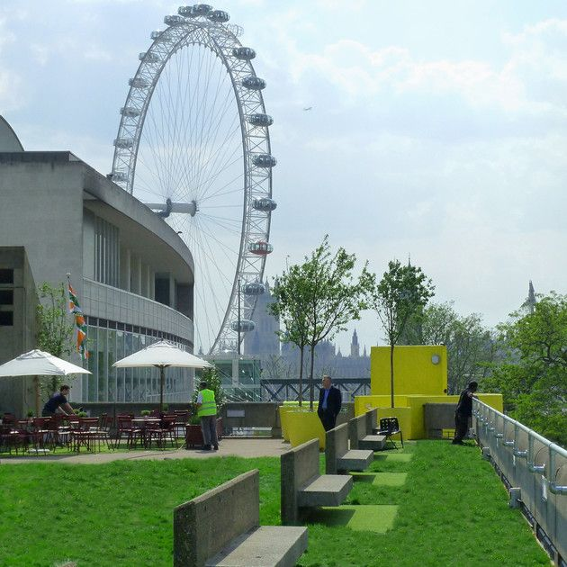 Queen Elizabeth Hall Roof Garden Rooftop Garden Roof Garden London Rooftops