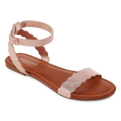 6a9e5c55b78 Arizona Giselle Womens Flat Sandals - JCPenney