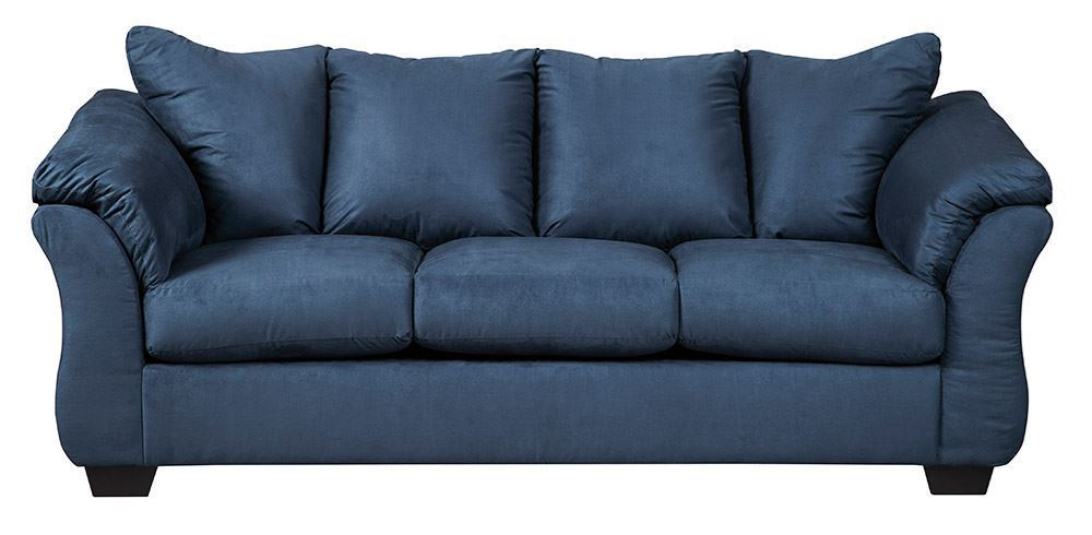 Best Darcy Blue Sofa In 2020 Sofa Microfiber Couch 400 x 300