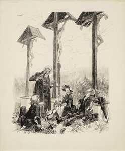 Heinrich KLEY (1863-1945) - Picknick