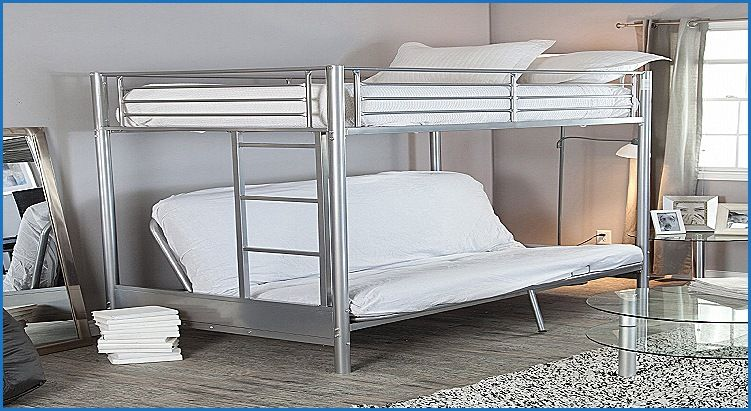 Lovely Double Bed With Sofa Underneath Furniture Design