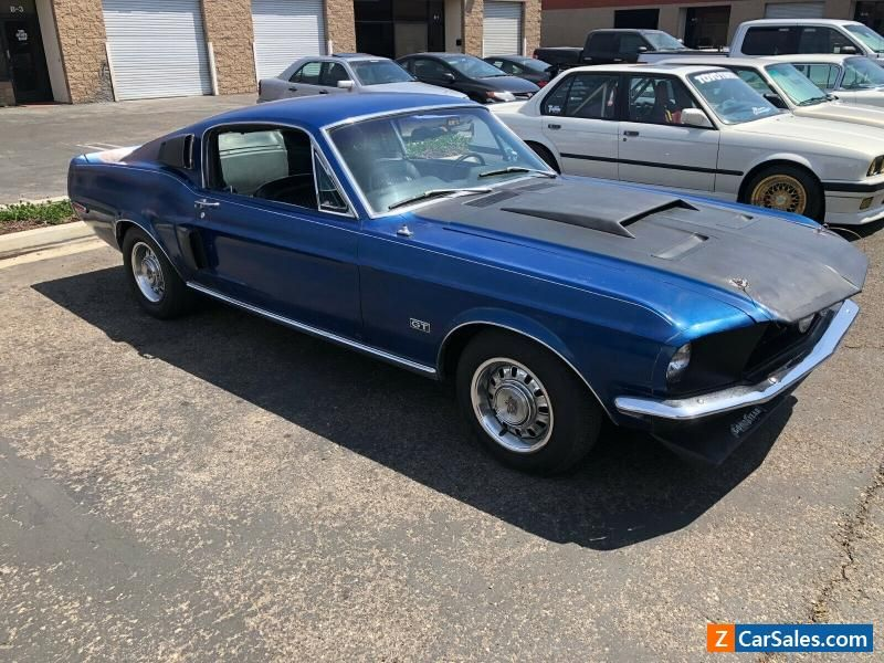 Car For Sale 1968 Ford Mustang