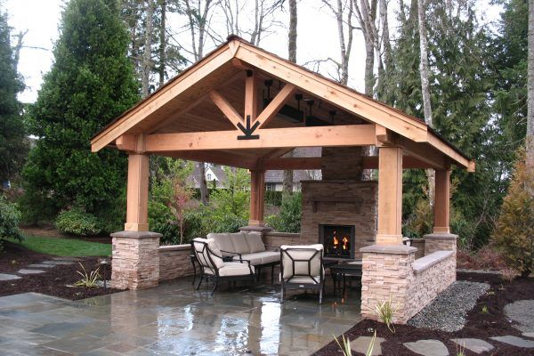 Image Result For Bluestone Patio Backyard Pavilion Backyard