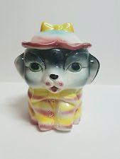 Vintage Japanese Ceramic Cookie Jar