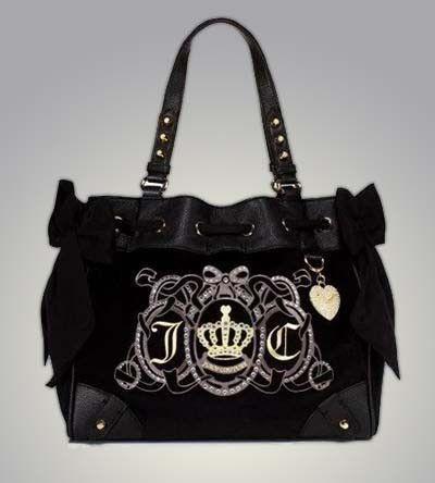 Black Juicy Couture Daydreamer Handbag