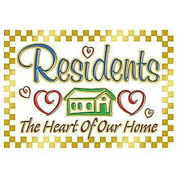 National Nursing Home Week 2020.Residents The Heart Of Our Home Lapel Pin With Card Item