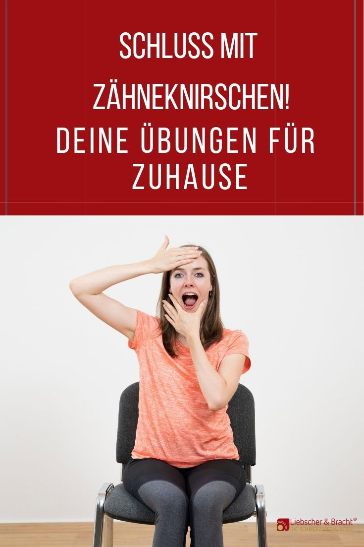 Photo of Zähneknirschen? Diese Übung entspannt deinen Kiefer