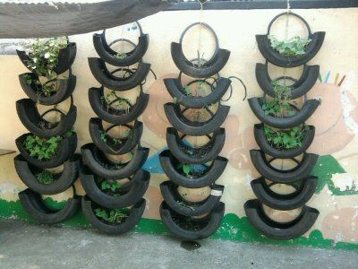 Uses for old tires tired tires ideas and gardens for Uses for old tyres