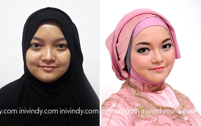 Tutorial Hijab Wisuda Untuk Wajah Bulat Wajah, Hijab