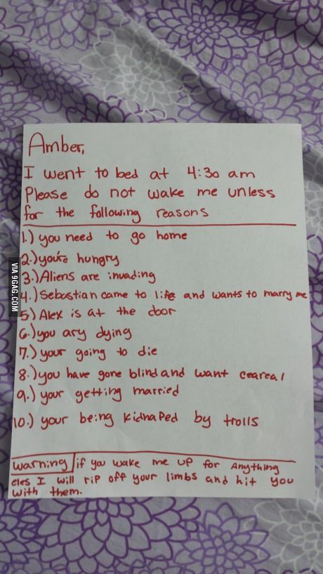 12 yo had a friend sleepover and left this note for her friend.