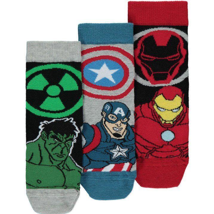 Lasten Marvel Avengers sukat 3 pack